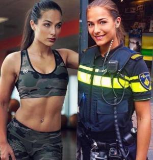 ლამაზი პოლიციელი ჰოლანდიიდან
