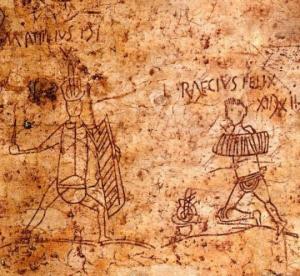 """რომაელებსაც უყვარდათ კედლებზე """"მზე""""-ს და """"აქ ვიყავით მე და გურამაი""""-ს სტილის წარწერების გაკეთება"""