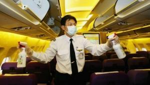 რომელ ადგილებს არ უნდა შეეხოთ თვითმფრინავში?