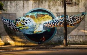 ტოპ 10 ქალაქი, გასაოცარი ნახატების სანახავად (Graffiti)