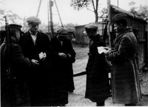 ლენინგრადში ჩავარდნილი გერმანული დაზვერვა