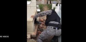 ქალაქის ცენტრალურ სასაფლაოზე პოლიციამ სამარხიდან ცოცხალი ადამიანი გამოიყვანა