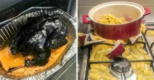 თქვენ როგორი მზარეული ხართ? - ეს ფოტოები დაგარწმუნებთ, რომ არსებობენ ადამიანები, რომლებიც საერთოდ არ უნდა გააკაროთ სამზარეულოს
