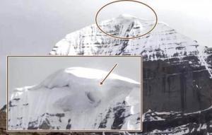 ტიბეტში კაილასის მთაზე კამერამ იდუმალი ხვრელი დააფიქსირა