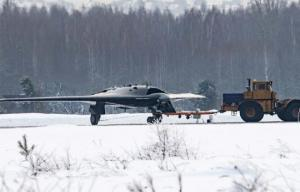 """გამოქვეყნდა რუსული სტელს-უპოლოტო ავიაგამანადგურებელის """"Охотник""""-ის პირველი ფოტოები"""