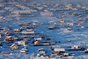 სიცივის პოლუსი - სოფელი ოიმიაკონი იაკუტიაში