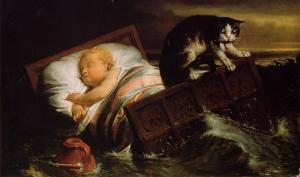 კატა,რომელმაც ბავშვი  გადაარჩინა - საინტერესო ლეგენდა ნიდერლანდებიდან