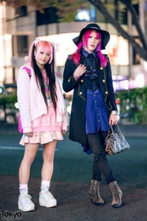 როგორი სამოსით დადის იაპონიის ქუჩებში ახალგაზრდობა (ნაწილი 7)