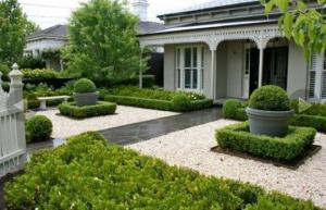 ბაღების და ეზოების მოწყობა თანამედროვე სტილში – 65 კრეატიული იდეა
