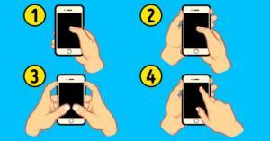 იმას, თუ როგორ გიკავიათ თქვენი სმარტფონი, ძალიან ბევრი რამის თქმა შეუძლია თქვენი ხასიათისა და პირადი ურთიერთობების შესახებ!