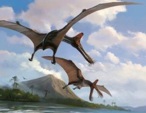 ანომალიურ როზუელაში მფრინავი დინოზავრები დაფრინავენ
