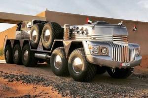 ათბორბლიანი ავტომობილი Dhabiyan, სპეციალურად შეიხისთვის