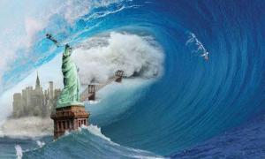 ნასას მეცნიერების განცხადებით, მსოფლიოს ბევრ ქალაქს  გიგანტური ტალღები დაფარავს
