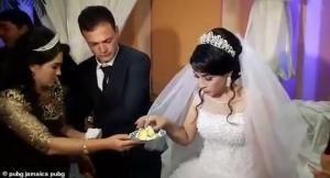 ქორწილში სიძემ პატარძალს სცემა(ვიდეო)