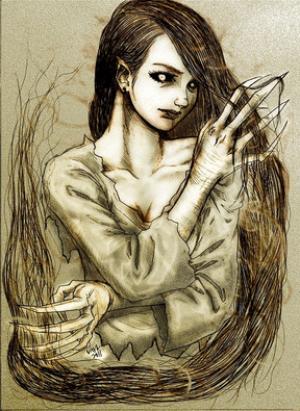 ქალის სული, რომელსაც საფლავიდან ადგომა შეუძლია