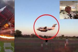 პილოტმა თვითმფრინავი გაიტაცა ცოლის მოკვლის მიზნით(ვიდეო)