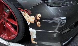 ავტომობილის შეკეთებას შემოქმედებითად მიუდგნენ (15 ფოტო)