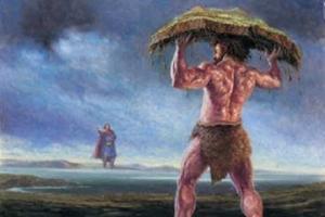ქართული მითოლოგია - ამბრი
