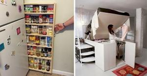 თუ პატარა სახლი გაქვთ, ასეთი იდეები გამოგადგებათ