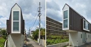 სახლი იაპონიაში - არ დაიჯერებთ, მაგრამ შიგნიდან უფრო დიდია, ვიდრე გარედან