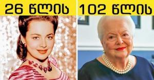 10 ცნობილი ადამიანი, რომლებიც ახლა 100-ზე მეტი წლის არიან