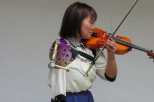 არ დანებდე და ოცნება აისრულე - ცალხელა მევიოლინე იაპონიიდან(ვიდეო)