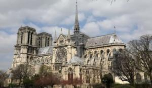 პარიზის ღვთისმშობლის ტაძრის დაწვამ ჩემთვის ბევრი კითხვა გააჩინა