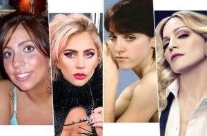 ნახეთ, როგორ გამოიყურებოდნენ ცნობილი ქალბატონები, სანამ ვარსკვლავები გახდებოდნენ