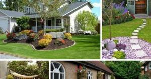 კერძო სახლის ეზოს დიზაინი: საინტერესო იდეები
