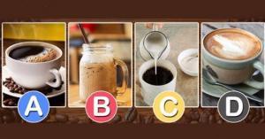 აირჩიეთ თქვენი ყავა და გაიგეთ როგორი ხართ ურთიერთობებში!
