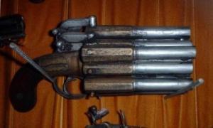 უჩვეულო ცეცხლსასროლი იარაღი (ნაწილი 2)