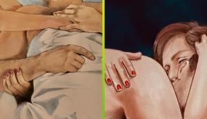 10 ემოციური ნახატი, რომლებიც ქალისა და მამაკაცის სიახლოვეს გამოხატავს