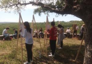 სოფელ მირზაანში მოსწავლეებს შორის ხატვის კონკურსი ჩატარდა