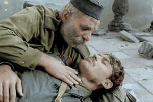 """რეალური ისტორია  მოხუცისა, რომელიც  შვილის კვალდაკვალ წავიდა ფრონტზე - """"ჯარისკაცის მამა"""" 55 წლისაა"""