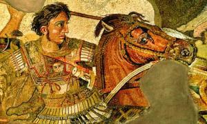 რას მოგვითხრობს  ძველი აღთქმა ალექსანდრე მაკედონელის მიერ ქვეყნების დაპყრობის შესახებ