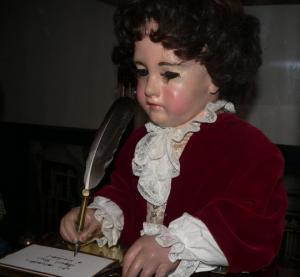 """''კალიგრაფი"""" -  XVIII   საუკუნეში შექმნილი  პირველი  კომპიუტერი"""
