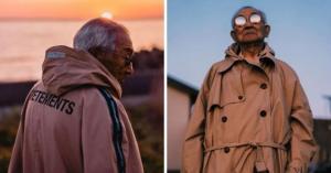 შვილიშვილმა 84 წლის ბაბუის გარდირობი შეცვალა და ინსტაგრამის ვარსკვლავად აქცია