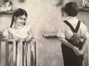 """ბავშვური სიყვარული  - """"თუ გინდა შენს მაგივრად მე ვეტყვი რომ მახინჯია"""""""