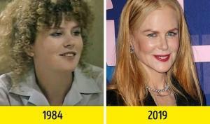 როგორ გამოიყურებოდა ზოგიერთი მსახიობი კარიერის დასაწყისში-დაუჯერებელია!