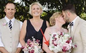 """ფოტოგრაფმა სთხოვა ახალდაქორწინებულებს ერთთმანეთისთვის ეკოცნათ, კადრი კი """"დაცემამდე"""" სასაცილო გამოვიდა, თუ რატომ ნახეთ სტატია"""