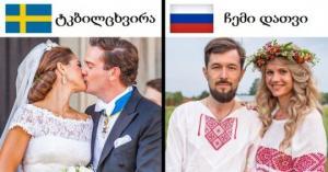 რას ეძახიან შეყვარებულები ერთმანეთს სხვადასხვა ქვეყნებში