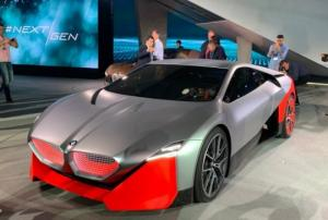 BMW მ წარადგინა კონცეპტი უპილოტო ავტომობილი M Next