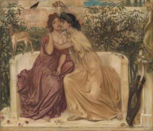საპფო– მეათე მუზად წოდებული ლესბოსელი პოეტესა