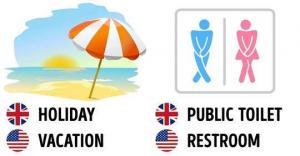 რა განსხვავებაა ბრიტანულ და ამერიკულ ინგლისურს შორის - 27 მაგალითი