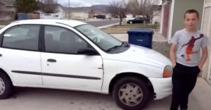 13 წლის ბიჭმა საკუთარი შრომით მარტოხელა დედას მანქანა უყიდა