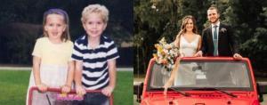 ამერიკელმა ქალმა იპოვა მეგობარი, რომელიც 5 წლის ასაკის შემდეგ არ უნახავს და ცოლად გაჰყვა