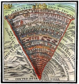 ჯოჯოხეთის რუკა-ხელოვანთა და მეცნიერთა მრავალსაუკუნოვანი ინტერესის სფერო