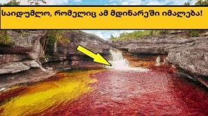 საშიში წყლებით გამორჩეული 5 იდუმალი მდინარე