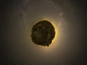 კოსმოსში დაფრინავს ასტეროიდი, რომელსაც შეუძლია დედამიწის ყველა მცხოვრები მილიარდერი გახადოს