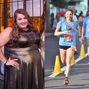 სურათები წონის დაკლებამდე და მის შემდეგ